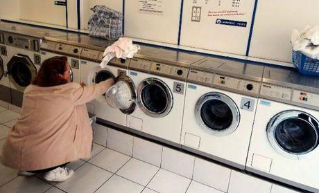 stuck in washing machine
