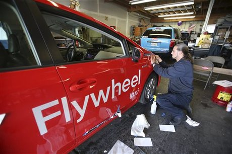 DeSoto Cab Company Taking on Name of Mobile App Flywheel