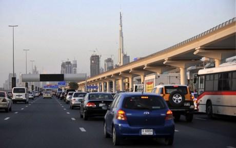 Dubai Tops New York, London for Cars per Person — Naharnet