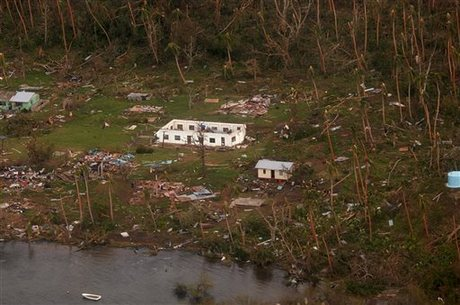 Cyclone Winston kills six in Fiji, thousands without power
