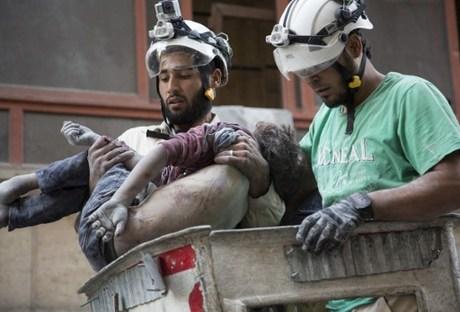 مقتل سبعة من الخوذ البيضاء على يد مجهولين شمال غرب سوريا Naharnet