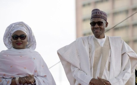 Nigerian president responds to wife's criticism: 'She belongs to my kitchen'