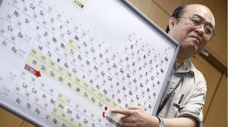 Periodic table expands with elements named after japan moscow the periodic table got larger wednesday after four new elements were officially named and added to the chart including nihonium the first ever to be urtaz Gallery