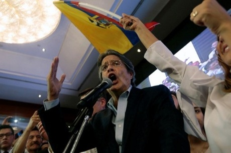 Leftist claims win in Ecuador election; rival cries foul