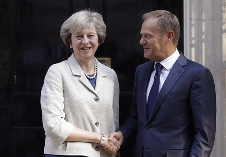 Tusk, May to maintain regular contact during Brexit negotiations