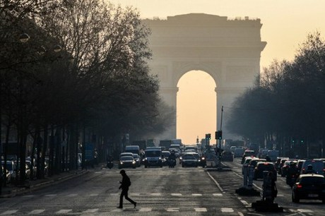 France honors police officer killed in Champs-Elysees attack