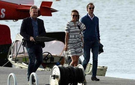 Pippa Middleton and James Matthews Continue Their Honeymoon in Australia