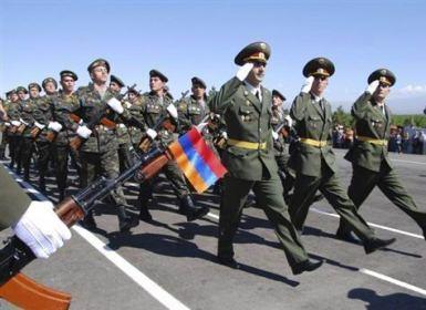 سربازان ارمنستان