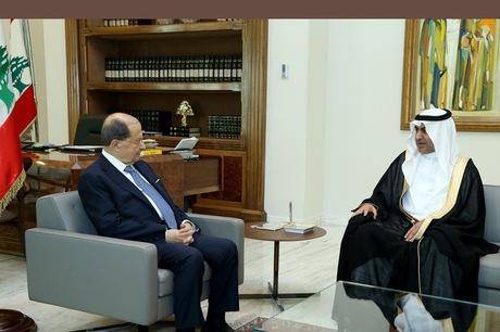 Saudi king holds talks with Lebanon PM in Riyadh