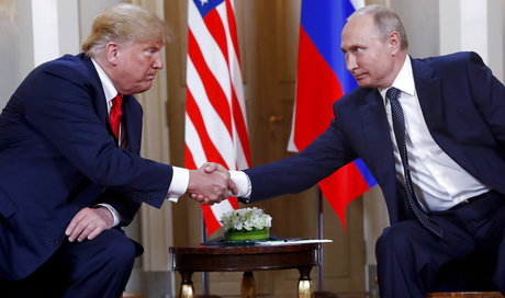 Putin summit begins in Helsinki