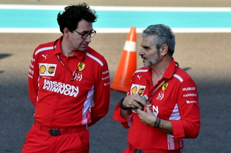Ferrari replaces Arrivabene with Binotto as team principal
