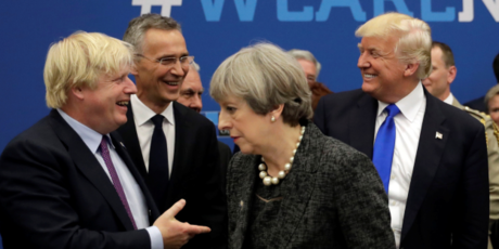 Trump, Johnson talk 5G and trade ahead of G7: White House