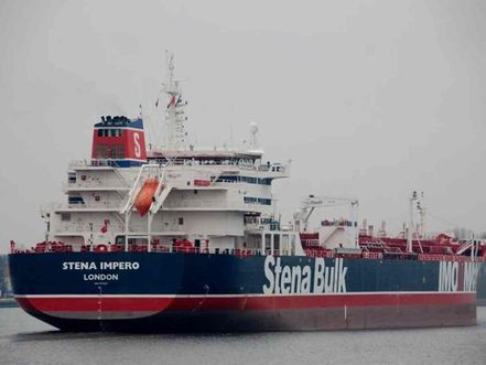 Iran may release British-flagged tanker on Sunday, Swedish owner says
