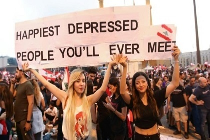 'All of Them Means All of Them': Lebanon Protest Slogans ...