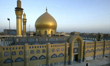 Image result for iraqi insurgents destroy a shiite shrines golden dome